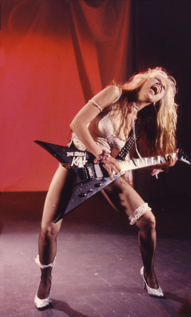 """""""BEETHOVEN ON SPEED"""" ERA's SCREAMING SHRED GODDESS from The Great Kat's """"BEETHOVEN MOSH"""" Music Video!"""