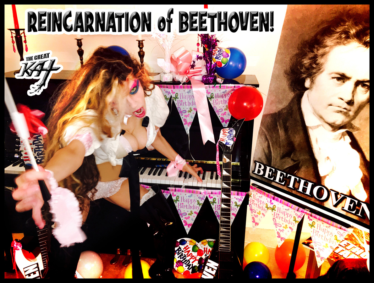 REINCARNATION of BEETHOVEN!