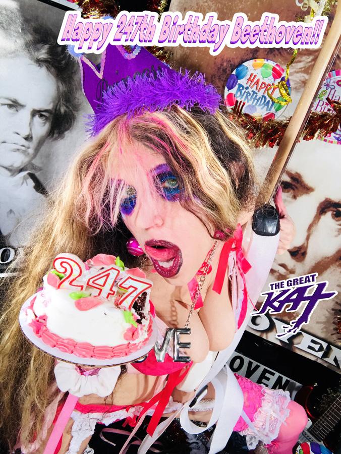 Happy 247th Birthday Beethoven!!