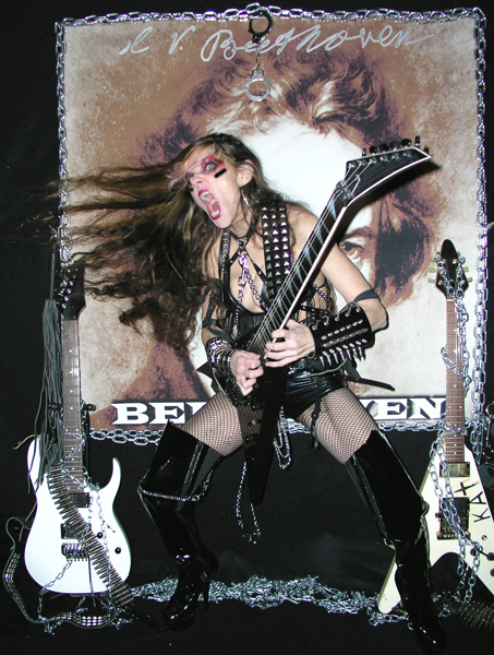 The Great KAT &quot;BEETHOVEN SHREDS&quot; CD Photos!