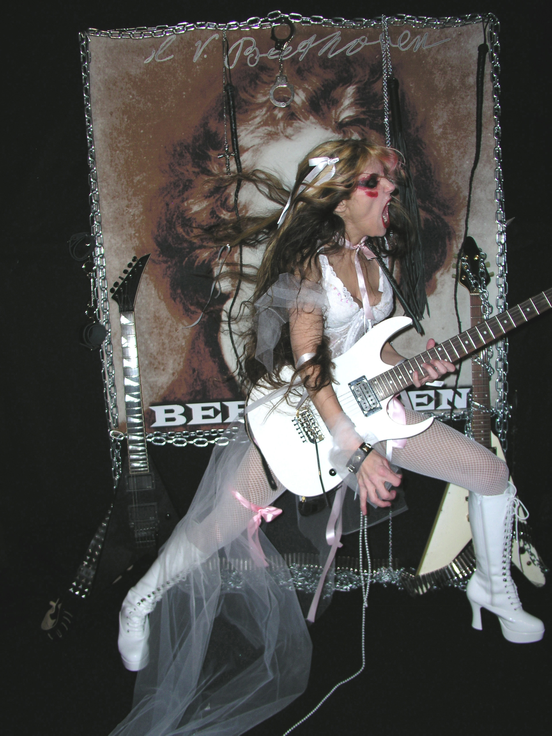 "The Great KAT ""BEETHOVEN SHREDS"" CD Photos!"