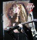 """L.A.'S MORNING NEWS - KFWB NEWS TALK 980  - LIVE INTERVIEW with THE GREAT KAT -  FEMALE GUITAR SHREDDER/""""TOP 10 FASTEST SHREDDERS OF ALL TIME""""! When: Mon., Feb 13 at 8:20 AM PST (11:20 AM EST)"""