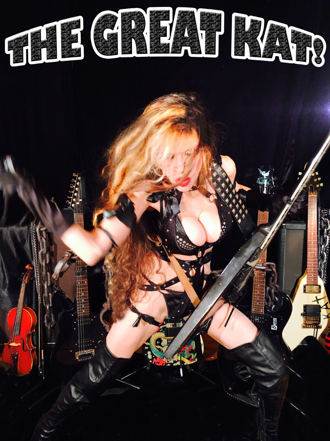 THE GREAT KAT!