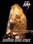 THE GREAT KAT SCORPION SHRED ATTACK!