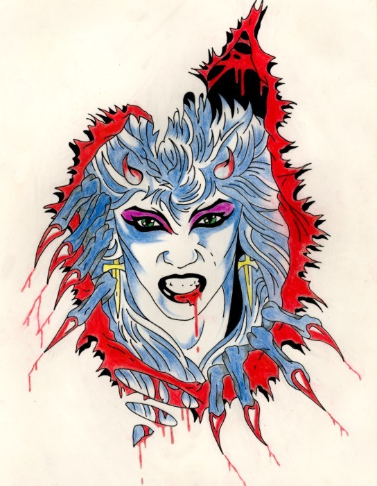 The Great Kat CARTOONS!