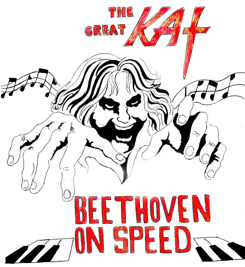 THE GREAT KAT! BEETHOVEN ON SPEED!
