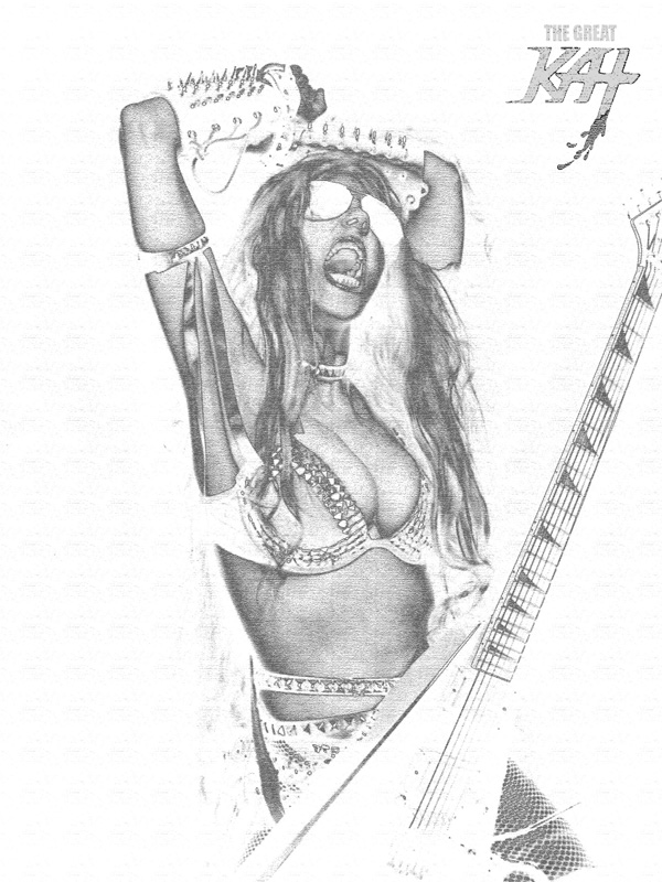 THE GREAT KAT METAL ICON!