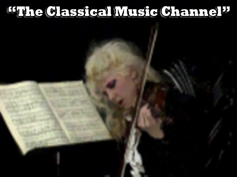 """The Great Kat's DIGITAL BEETHOVEN ON CYBERSPEED CD-ROM/CD'S """"THE CLASSICAL MUSIC CHANNEL""""!"""