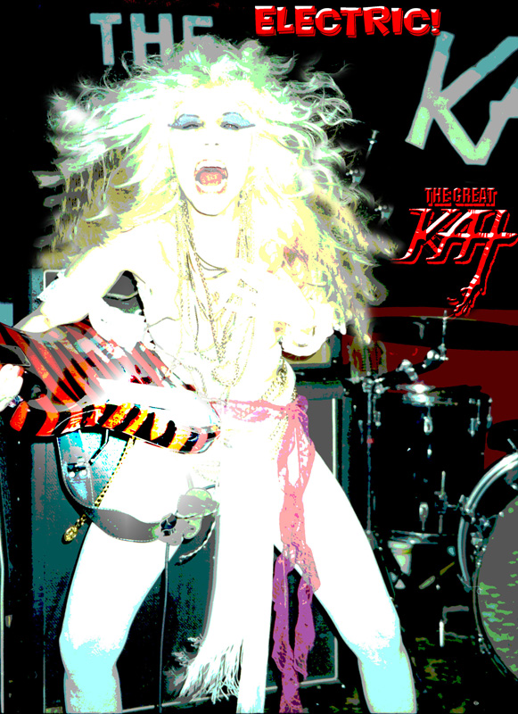 """DIGITAL BEETHOVEN ON CYBERSPEED"" ERA'S ELECTRIC KAT! Great Kat Photo!"