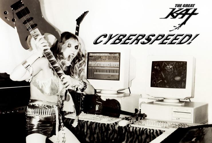 """DIGITAL BEETHOVEN ON CYBERSPEED"" ERA'S ""CYBERSPEED"" GREAT KAT PHOTO!"