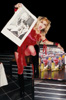 "RARE METAL HISTORY! METAL ICON THE GREAT KAT & DISPLAY for ""DIGITAL BEETHOVEN ON CYBERSPEED"" DOMINATES at NYC IN-STORE!"