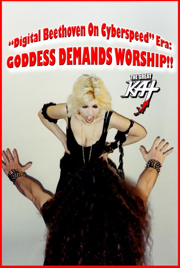 """DIGITAL BEETHOVEN ON CYBERSPEED"" ERA: GODDESS DEMANDS WORSHIP!!"