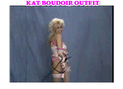 """KAT BOUDOIR OUTFIT"" from KAT TV from The Great Kat's ""DIGITAL BEETHOVEN ON CYBERSPEED"" CD-ROM/CD!"