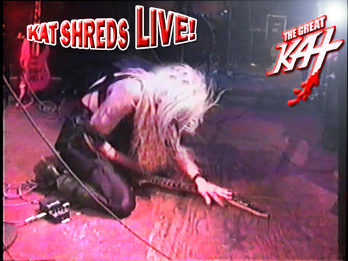 """DIGITAL BEETHOVEN ON CYBERSPEED"" ERA'S ""KAT SHREDS LIVE!"" KAT PHOTO"