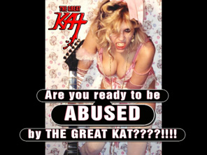 "Your DAILY DOSE of KAT ABUSE: ""What an inferior idiot!"" – Watch The Great Kat's INSULTS hurl! From ""Digital Beethoven On Cyberspeed"" CD/CD-ROM!"