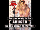 The Great Kat�s DIGITAL BEETHOVEN ON CYBERSPEED CD-ROM/CD NEW VIDEO: Your DAILY DOSE of KAT ABUSE: �What an inferior idiot!� � Watch The Great Kat�s INSULTS hurl!