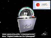 """CYBERSPEED"" Now Playing on The Great Kat CYBER-JUKEBOX!"