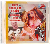 "BUY NEW ""CHEF GREAT KAT COOKS RUSSIAN CAVIAR & BLINI with RIMSKY-KORSAKOV"" SINGLE Audio CD (Spoken word/Music 3:16)! PERSONALIZED AUTOGRAPHED by THE GREAT KAT! (Signed to Customer's Name)"