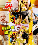 "BUMBLE-BEE BABES! From ""CHEF GREAT KAT COOKS RUSSIAN CAVIAR AND BLINI WITH RIMSKY-KORSAKOV"" VIDEO!!"