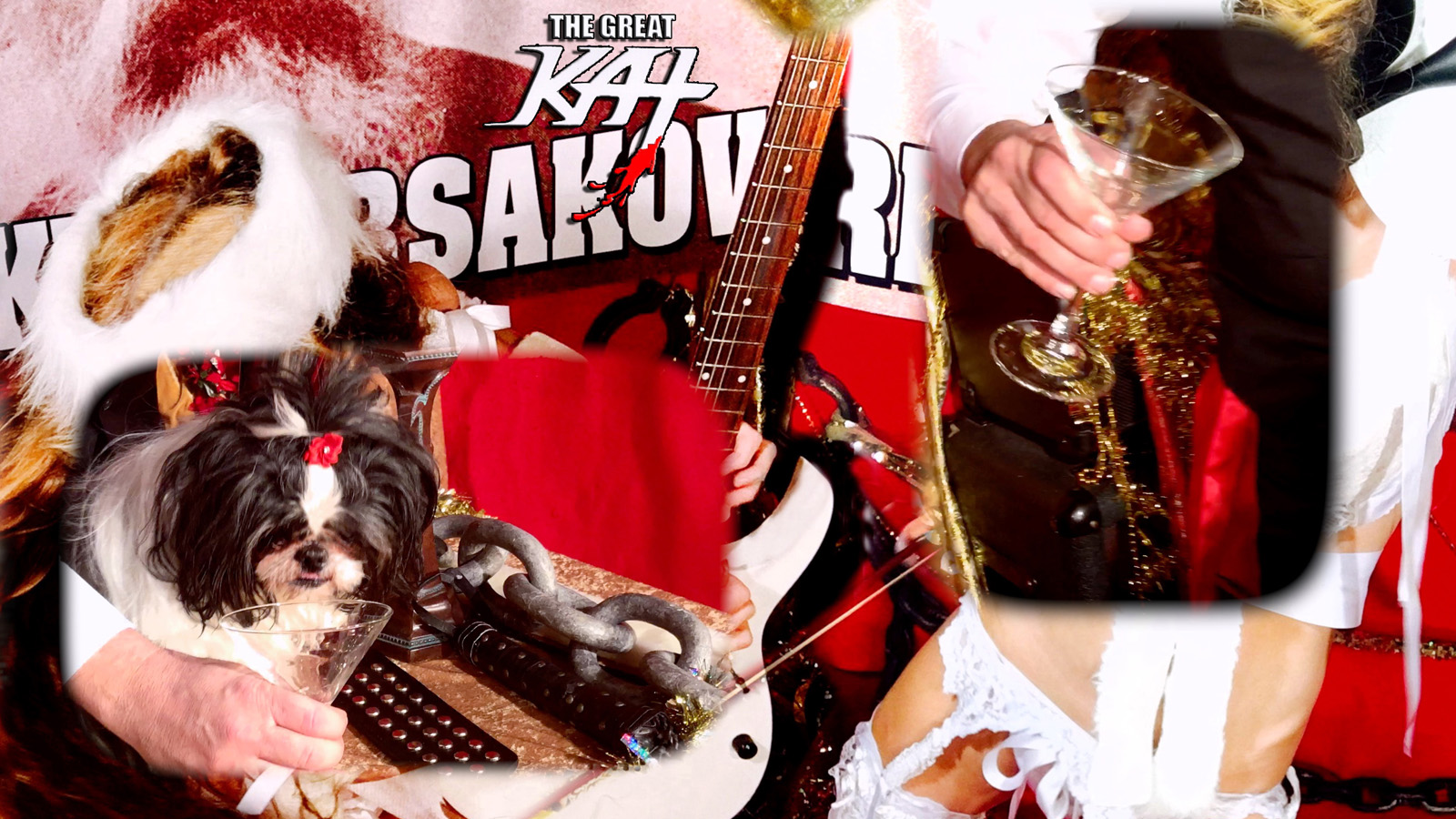 """RUSSIAN PUPPY! From """"CHEF GREAT KAT COOKS RUSSIAN CAVIAR AND BLINI WITH RIMSKY-KORSAKOV"""" VIDEO!!"""