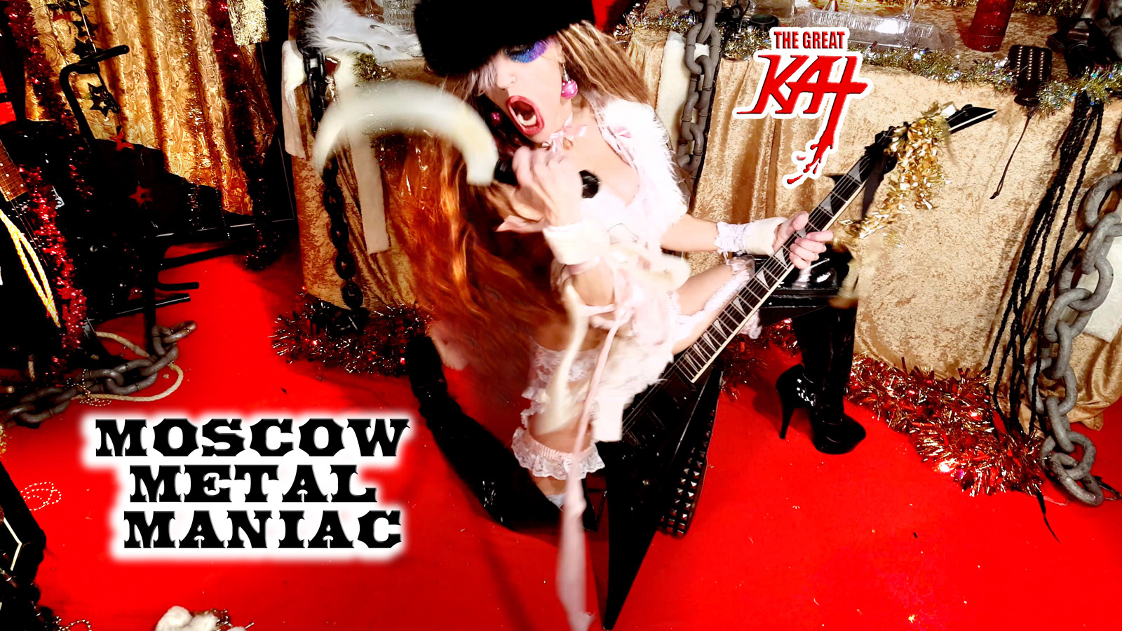 """MOSCOW METAL MANIAC! From """"CHEF GREAT KAT COOKS RUSSIAN CAVIAR AND BLINI WITH RIMSKY-KORSAKOV"""" VIDEO!!"""
