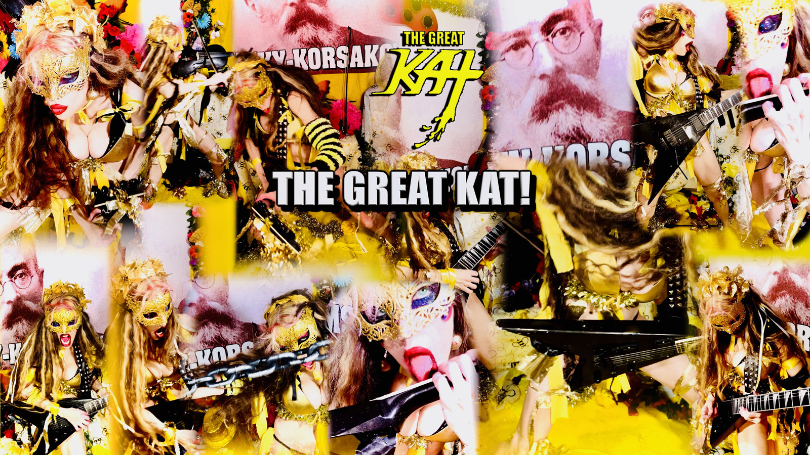 """THE GREAT KAT! From """"CHEF GREAT KAT COOKS RUSSIAN CAVIAR AND BLINI WITH RIMSKY-KORSAKOV"""" VIDEO!!"""