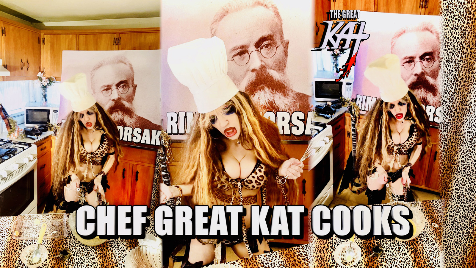"""CHEF GREAT KAT COOKS! From """"CHEF GREAT KAT COOKS RUSSIAN CAVIAR AND BLINI WITH RIMSKY-KORSAKOV"""" VIDEO!!"""