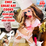 """CHEF GREAT KAT COOKS RUSSIAN CAVIAR AND BLINI WITH RIMSKY-KORSAKOV"" VIDEO!"