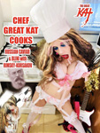 "WORLD PREMIERE of ""CHEF GREAT KAT COOKS RUSSIAN CAVIAR AND BLINI WITH RIMSKY-KORSAKOV"" VIDEO on AMAZON at https://www.amazon.com/dp/B0791NZF6J The Great Kat is the hot Russian KatBot ""android"" tempting you in Russian to taste Chef Great Kat's Russian Caviar & Blini. Great Kat, Top 10 Fastest Shredders Of All Time, cooks Russian Caviar & Blini with insane guitar/violin shredding on Rimsky-Korsakov's Flight Of The Bumble-Bee & Sous Chefs Vladimir & Sergey. Great Kat takes you to secret Russian restaurant for tasting. Hot & decadent. WATCH at https://www.amazon.com/dp/B0791NZF6J"