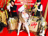 "GODDESS Shreds with VLADIMIR & SERGEY! From ""CHEF GREAT KAT COOKS RUSSIAN CAVIAR AND BLINI WITH RIMSKY-KORSAKOV"" VIDEO!!"