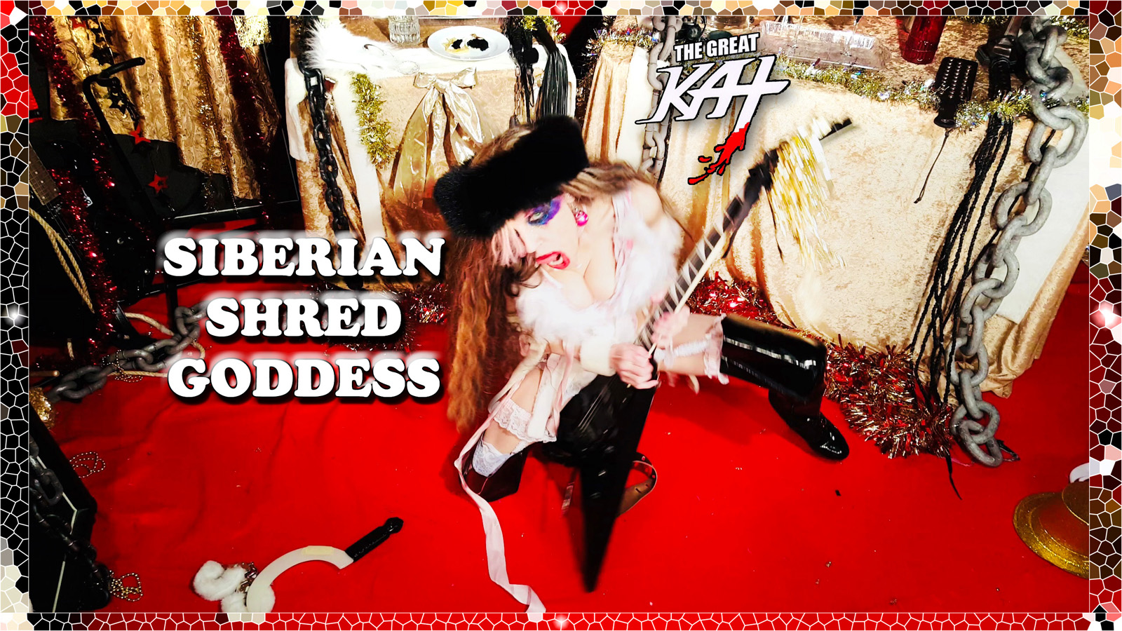 "SIBERIAN SHRED GODDESS! From ""CHEF GREAT KAT COOKS RUSSIAN CAVIAR AND BLINI WITH RIMSKY-KORSAKOV"" VIDEO!!"
