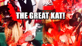 THE GREAT KAT! From CHEF GREAT KAT COOKS PAGANINI'S RAVIOLI!