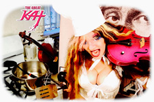 ADORABLE VIOLIN CHEF! From CHEF GREAT KAT COOKS PAGANINI'S RAVIOLI!