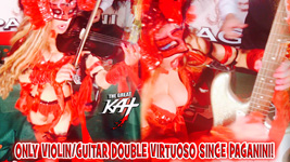 ONLY VIOLIN/GUITAR DOUBLE VIRTUOSO SINCE PAGANINI! From CHEF GREAT KAT COOKS PAGANINI'S RAVIOLI!