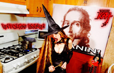 WITCHES BREW!!! From CHEF GREAT KAT COOKS PAGANINI'S RAVIOLI!