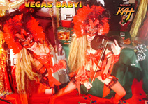 VEGAS BABY! From CHEF GREAT KAT COOKS PAGANINI'S RAVIOLI!