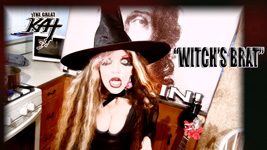 """WITCH'S BRAT""! From CHEF GREAT KAT COOKS PAGANINI'S RAVIOLI!"