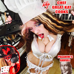 CHEF GREAT KAT COOKS PAGANINI'S RAVIOLI! AUDIO From CHEF GREAT KAT COOKS PAGANINI'S RAVIOLI!