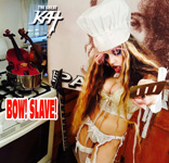 VIOLIN GODDESS demands BOW! SLAVE!! From CHEF GREAT KAT COOKS PAGANINI'S RAVIOLI!