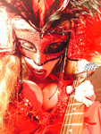 HOT & EVIL SHOWGIRL! From CHEF GREAT KAT COOKS PAGANINI'S RAVIOLI!