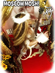 "MOSCOW MOSH! From ""CHEF GREAT KAT COOKS RUSSIAN CAVIAR AND BLINI WITH RIMSKY-KORSAKOV"" VIDEO!"