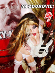 "NA ZDOROVIE! From ""CHEF GREAT KAT COOKS RUSSIAN CAVIAR AND BLINI WITH RIMSKY-KORSAKOV"" VIDEO!"