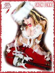 "SNOW BUNNY! From ""CHEF GREAT KAT COOKS RUSSIAN CAVIAR AND BLINI WITH RIMSKY-KORSAKOV"" VIDEO!"