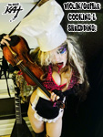 "VIOLIN/GUITAR COOKING & SHREDDING! From ""CHEF GREAT KAT COOKS RUSSIAN CAVIAR AND BLINI WITH RIMSKY-KORSAKOV"" VIDEO!"