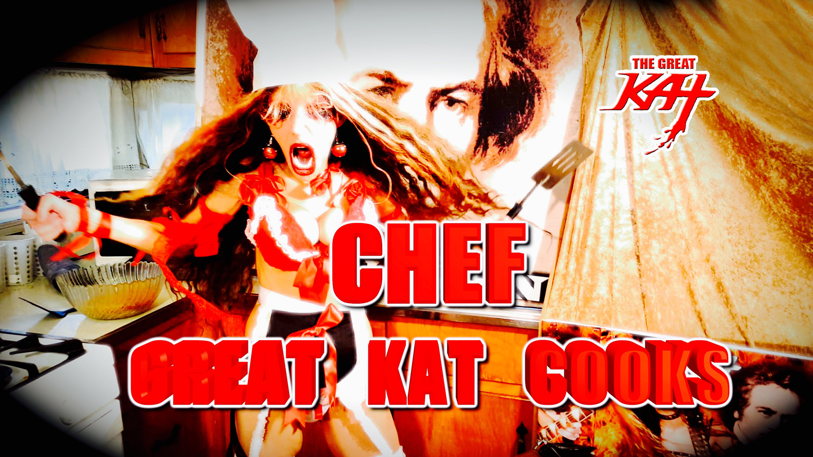 CHEF GREAT KAT COOKS!