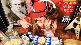 CHEF GREAT KAT TASTES her RECIPE
