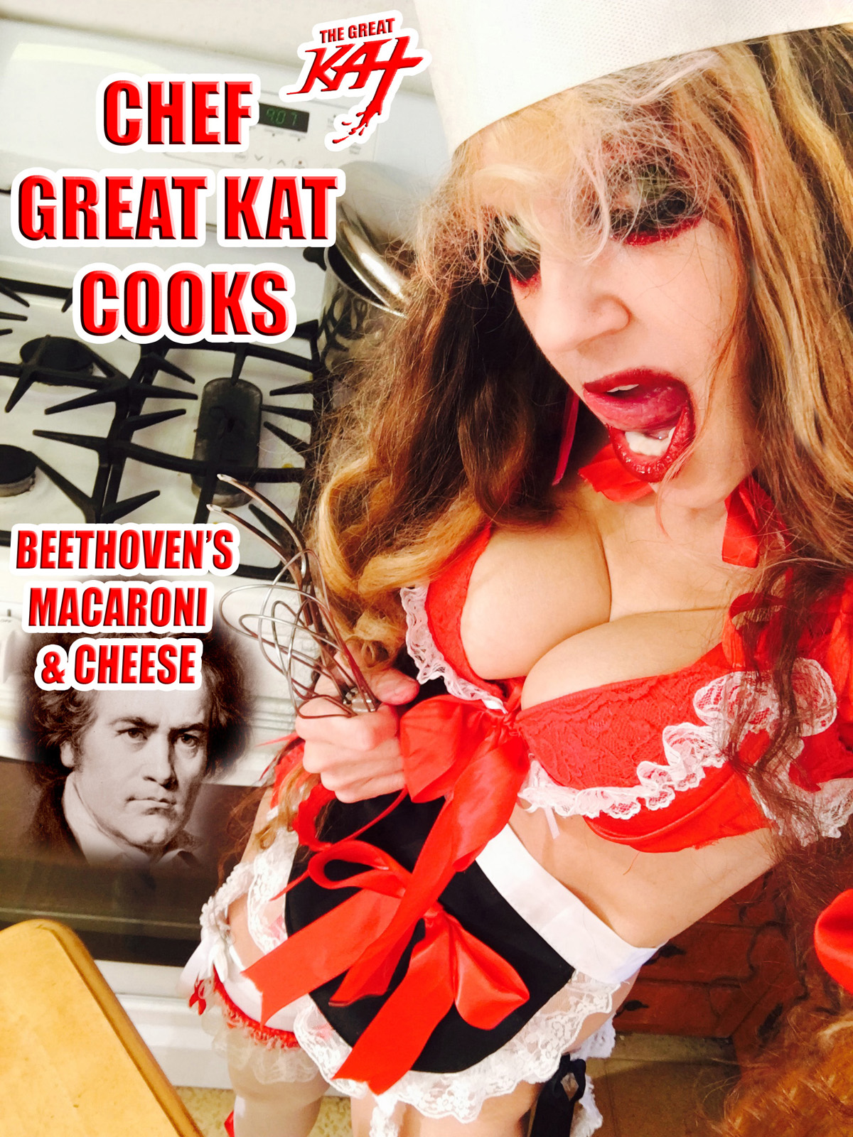 CHEF GREAT KAT COOKS BEETHOVEN'S MACARONI & CHEESE