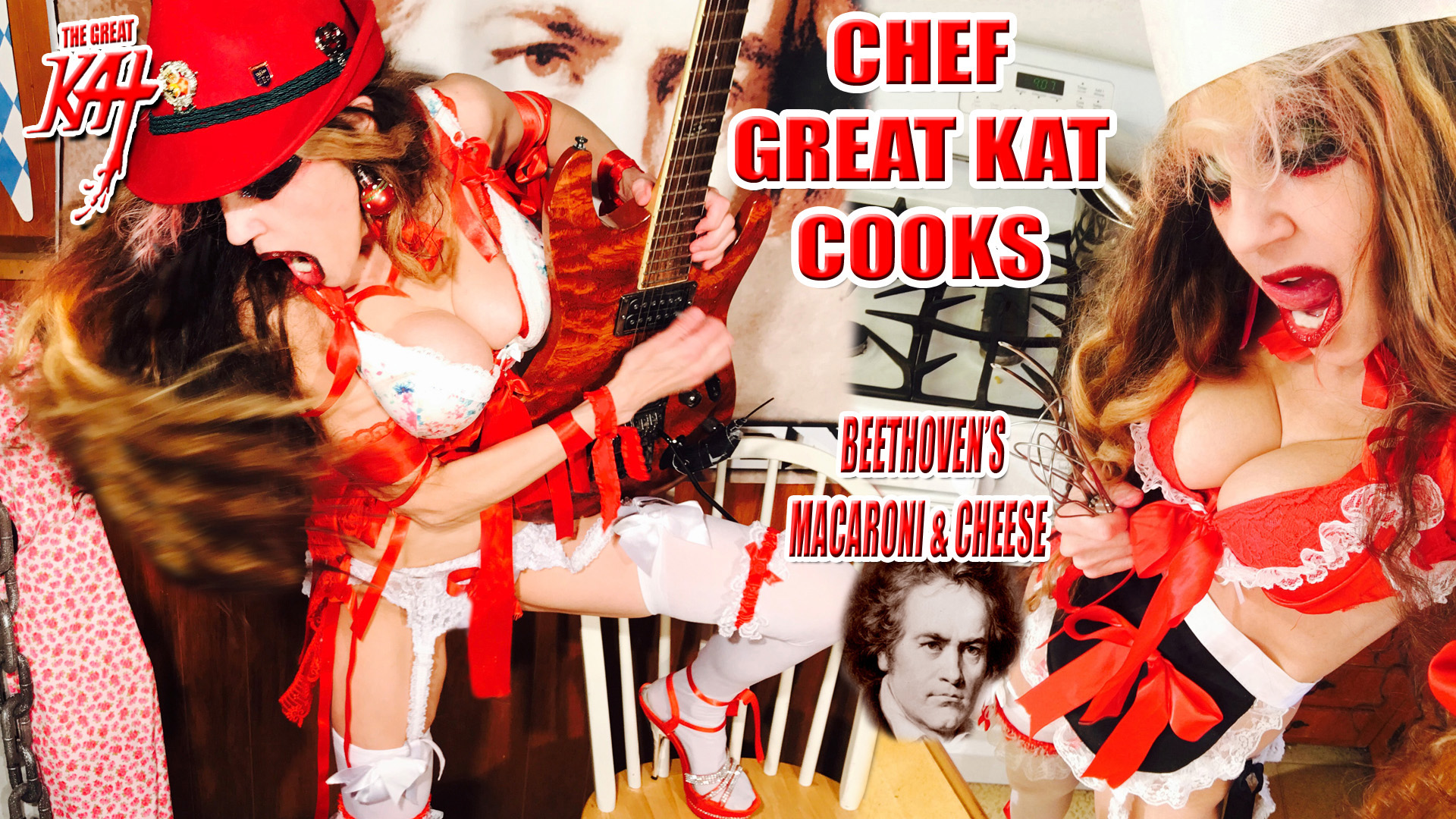 CHEF GREAT KAT COOKS BEETHOVEN'S MACARONI & CHEESE