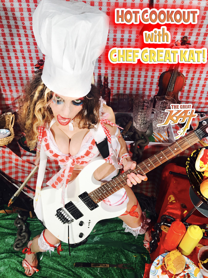 HOT COOKOUT with CHEF GREAT KAT!