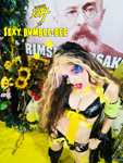 "SEXY BUMBLE-BEE! From ""CHEF GREAT KAT COOKS RUSSIAN CAVIAR AND BLINI WITH RIMSKY-KORSAKOV"" VIDEO!"